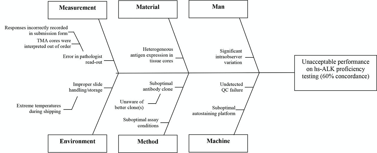 Sample HS-ALK Fishbone Diagram
