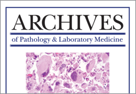 Archives of Pathology   Laboratory Medicine 2ed6a0bb3e7